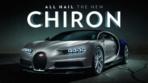 Meet The New 261mph, 1,479bhp Bugatti Chiron [pictures