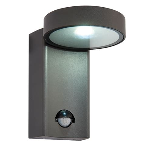 saxby lighting oreti pir wall light outdoor led wall