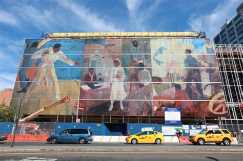 Harlem Hospital Glass Mural most innovative decorative glass project commercial
