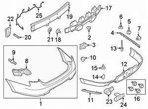 Ford Taurus Parking Aid System Wiring Harness  2013