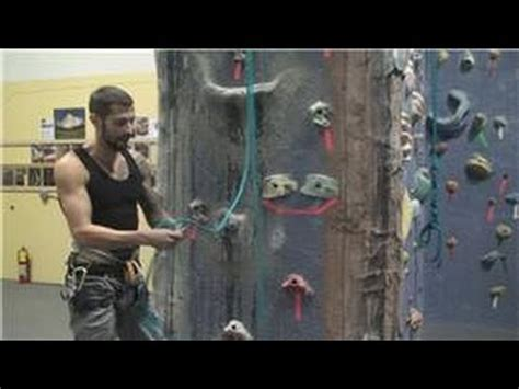 Rock Climbing How Belay Yourself While