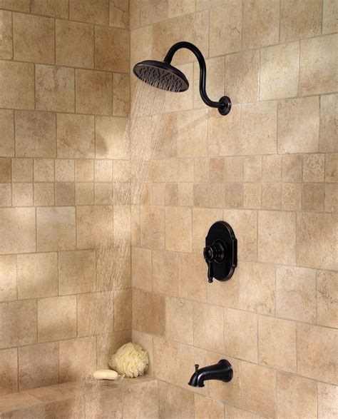 Bathroom Tub Fixtures by Pfister Hanover 1 Handle Tub Shower Faucet Tuscan