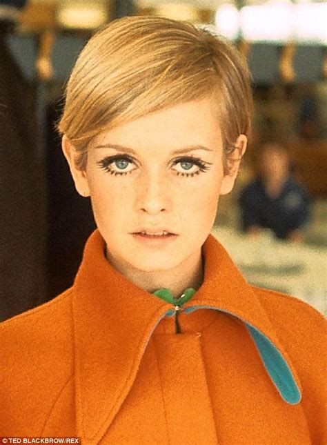 Twiggy's life in 15 hairstyles   Daily Mail Online