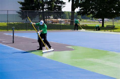 l repair portland or tennis court resurfacing repair portland northern or