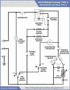 11  Skema Diagram Kelistrikan Kulkas