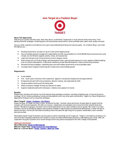 Apparel Buyer Resumeapparel Buyer Resume by Fashion Buyer Jd