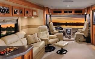 RV Class A Motorhome Interior