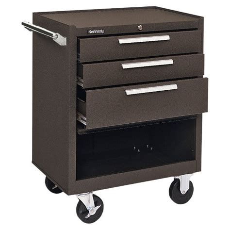 kennedy roller cabinet kennedy 3 drawer roller cabinet jet