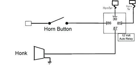 car horn wiring diagram webtor me