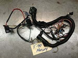 2000 Yamaha Mercury F 90 Hp 4 Stroke Engine Wire Harness Freshwater Mn