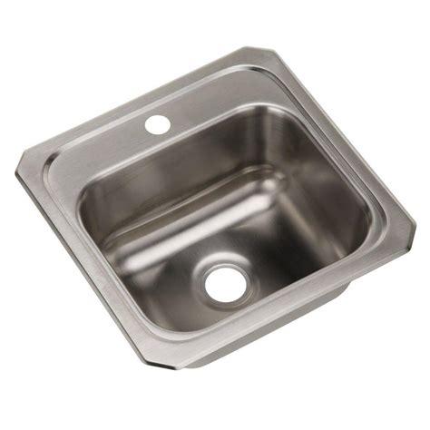 kitchen sink holes moen drop in stainless steel 24 375 in 4 2743