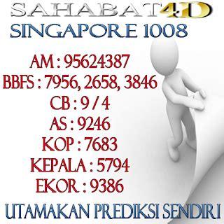 prediksi singapore   blog sahabatd