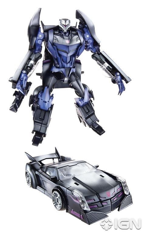 transformers prime deluxe wave   voyager official images transformers news tfw