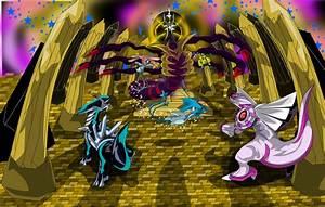 Pokemon Dialga Vs Palkia Vs Giratina Vs Arceus Images ...