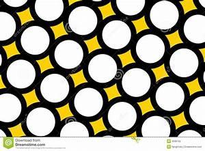 Yellow Polka Dots Background Stock Photography - Image ...