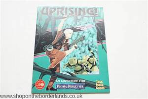 Uprising   Softback Adventure For Prime Directive