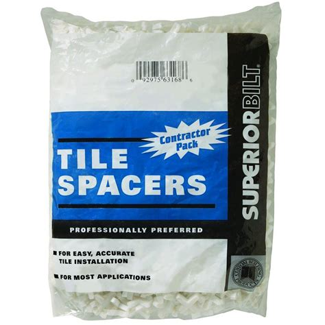 Home Depot Tile Spacers 332 by Custom Building Products Superiorbilt Small Wedge Spacer