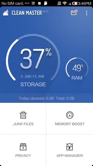 clean master android clean master si aggiorna su android nuovo disegno e