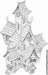 Coloring Pages Adult Adults Buildings Colouring Colorpagesformom Burrow Grown Printable Drawing Weasley Getstarted Ts sketch template