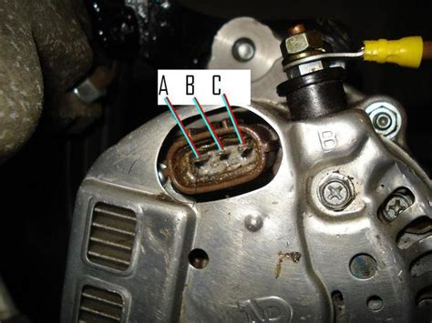 nippon denso alternator connections
