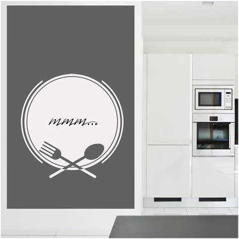 stickers miroir cuisine pin cher stickers muraux couverts cuisine miroir on