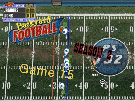 Backyard Football Pc by Backyard Football 1999 Pc Season 2 15 Rival