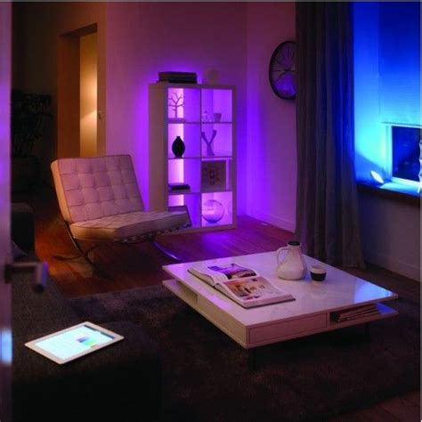 add multicoloured mood lighting anywhere in your home with philips hue led strips smart home