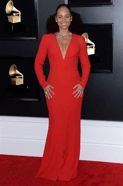Alicia Keys Awards Grammy 61st Annual Angeles