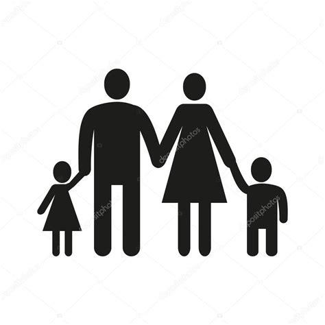 symbol familie das symbol familie familie symbol wohnung stockvektor
