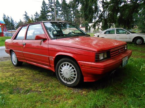 renault alliance 1987 seattle s parked cars 1987 renault gta