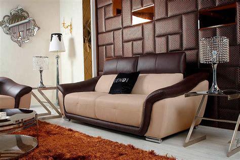 Beige Leather Sofa Set by Modern Beige Leather Sofa Set Vg376 Leather Sofas