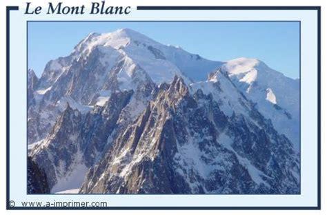 carte postale gratuite 224 imprimer montagne le mont blanc a imprimer