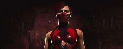 Mortal Kombat Skarlet Redhead Wallhere Games Play