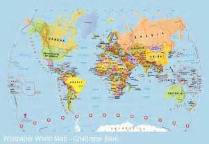 World Map as Background
