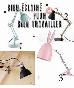 Lampe De Bureau Enfant : 4 lampes de bureau ~ Teatrodelosmanantiales.com Idées de Décoration
