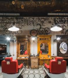 black beard barbershop by b v studio moscow russia