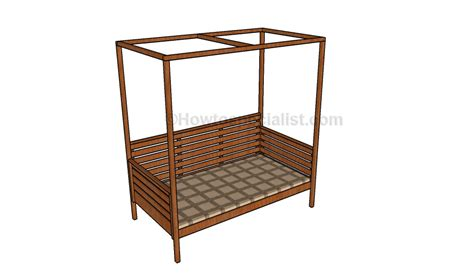 outdoor daybed plans howtospecialist   build