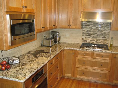 Kitchen Backsplash Ideas With Granite Countertops : Kitchen Tile Ideas For The Backsplash Area