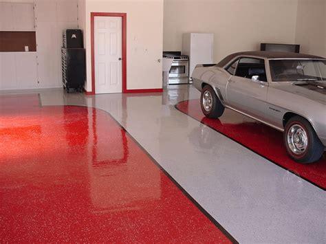apply garage floor paint