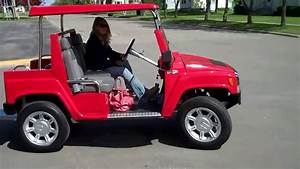 New Hummer H3 Electric Golf Carts  11 500