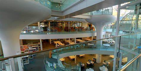 library  tokyo lets  study   floating glass dome