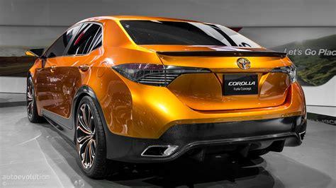 Toyota Corolla Furia Concept [live Photos