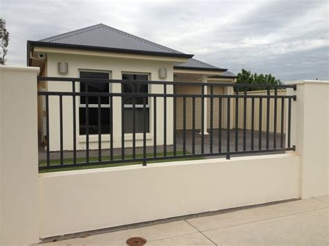 house gates and fences concrete fence and steel gate design with photos in the philippines joy studio design gallery