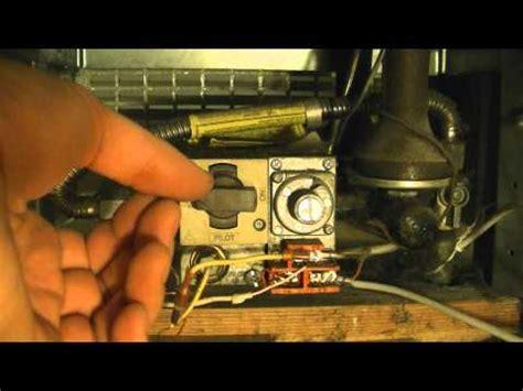 furnace pilot light pilot light won t stay lit how to replace a broken