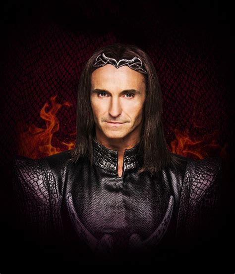 Marti Pellow looks unrecognisable in role as evil sorcerer ...