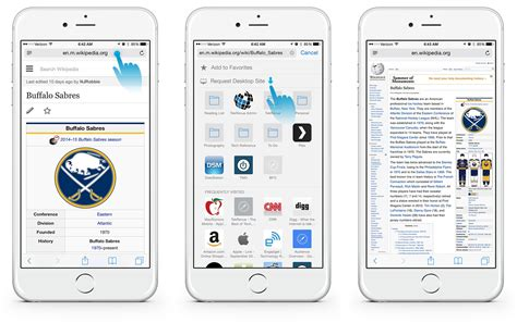 what is safari on iphone how to view the desktop version of a website in ios 8 safari