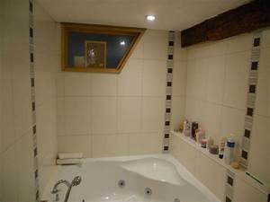 awesome mosaique salle de bain adhesive photos doztopo With carrelage adhesif salle de bain avec armoire avec led