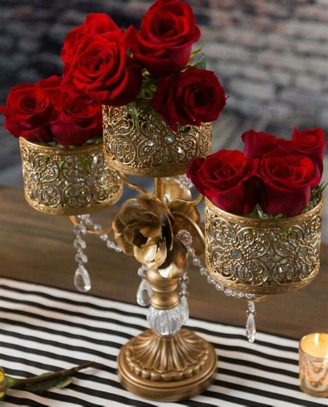 Gold Beauty Wedding decor elegant Wedding centerpieces