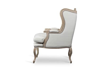Baxton Studio Accent Chairs by Baxton Studio Auvergne Wood Traditional Accent Chair