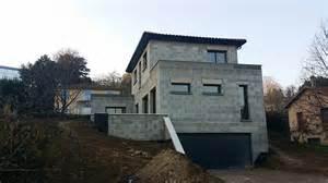 plans d un terrain en pente maison moderne